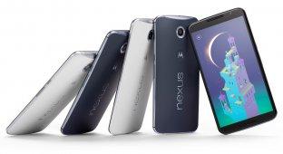 Google Nexus 6 представлен официально