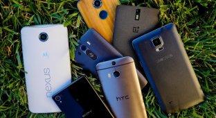 Самые популярные Android-смартфоны на Q1 2015