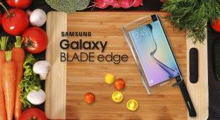 Samsung представила первый умный нож Galaxy Blade edge