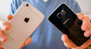 Сравнение качества камер Samsung Galaxy S6 и Apple iPhone 6