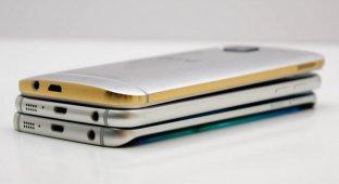 Флагманы Apple, Samsung и HTC проверены на прочность роботом