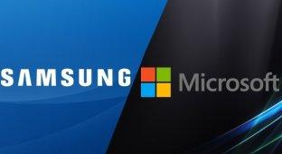 Microsoft оснастит устройства Samsung собственными сервисами