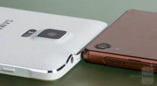 Samsung Galaxy Note 4 vs Sony Xperia Z3: подробное сравнение камер