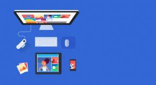 Как загрузить свои фотографии с десктопа в Google Фото