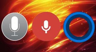 Google Now и Cortana распознают речь хуже, чем Siri