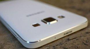 Фаблет Galaxy A8 от Samsung на «живых» фото