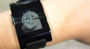 Обновление Pebble принесло поддержку приложений для Android Wear
