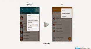 Новый пользовательский интерфейс TouchWiz на Galaxy S6 имеет очень много общего с Tizen