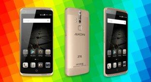ZTE анонсировала Axon Elite — смартфон, который притягивает