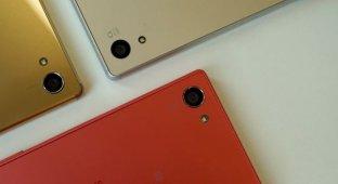 Великолепное трио: Sony Xperia Z5, Z5 Compact и Z5 Premium
