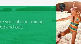 Google разрабатывает онлайн-конструктор чехлов для смартфонов
