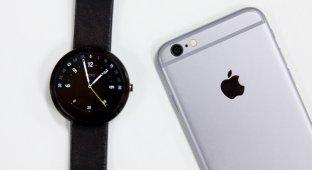 Google в ближайшее время может анонсировать совместимость Android Wear с iPhone