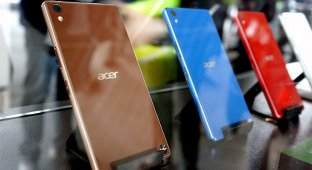 Acer представила фаблет Liquid X2 с 3 SIM-картами