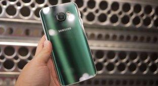 Пожалуй, самый жестокий дроп-тест Galaxy S6 Edge в мире