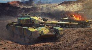 Обзор лучших танковых игр
