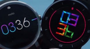 LG G Watch R и Moto 360 — самые популярные часы на Android Wear
