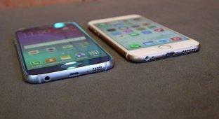 Варим борщ из Galaxy S6 и iPhone 6