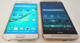 Сравниваем дисплеи HTC One M9 и Samsung Galaxy S6
