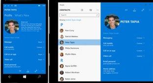 Обнародованы скриншоты мобильной Windows 10