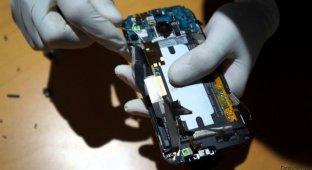 Смартфон HTC One M9 разобрали до винтиков