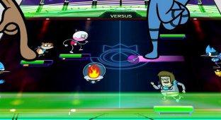 Grudgeball — отличная игра на двоих по мотивам Regular Show