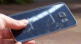 Неожиданные результаты нового дроп-теста Samsung Galaxy S6 Edge