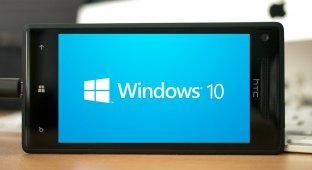 Новая сборка мобильной Windows 10 на видео
