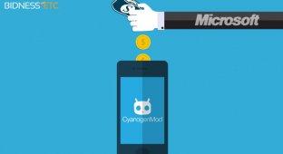 Cyanogenmod переходит на сервисы Microsoft