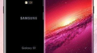 Фантазия на тему Galaxy S9