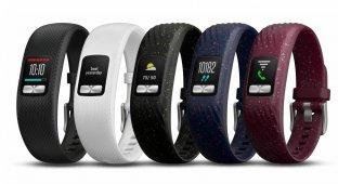 Vivofit 4 от Garmin — трекер с цветным дисплеем