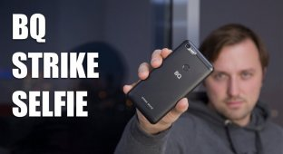Видеообзор: BQ Strike Selfie — селфифон или все же нет?