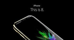 Свежий концепт-арт iPhone 8