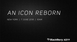 BlackBerry презентует KEYtwo в июне