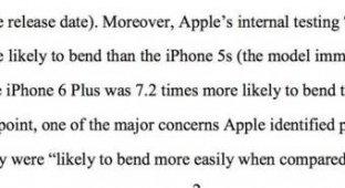 Apple заранее знала об одной из главных проблем iPhone 6