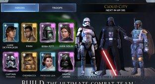 Вышла мобильная Star Wars: Rivals