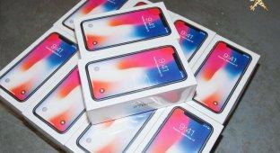 На белорусской таможне задержали партию нелегальных айфонов на $1 млн