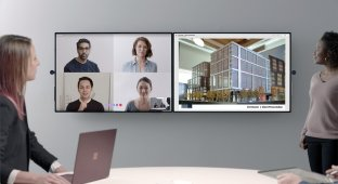 Surface Hub 2 от Microsoft — переосмысление офисной работы
