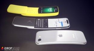 Если бы iPhone стал слайдером….