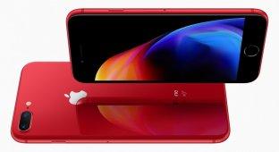 Ещё больше красных смартфонов Apple